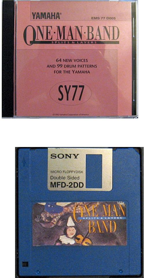 Yamaha SY77 soundbanks