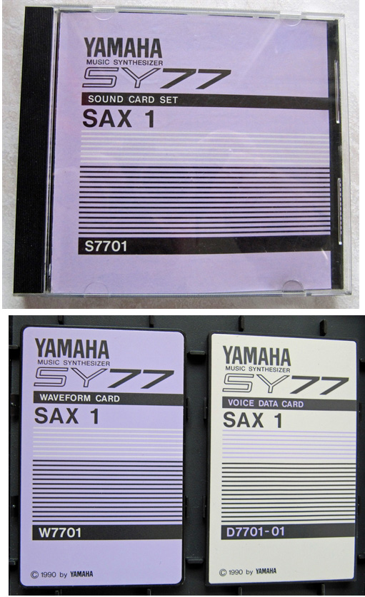 Yamaha Sy  Sound Banks